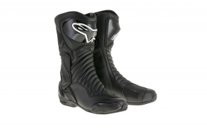 Ghete piele sport SMX 6 V2 ALPINESTARS culoare negru  marime 45