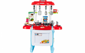 "Bucatarie completa, multifunctionala premium pentru copii cu lumini sunete si apa, ""Interest Kitchen"", 62 CM"