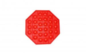 Jucarie anti-stres POP IT hexagon - rosu  KATHODE