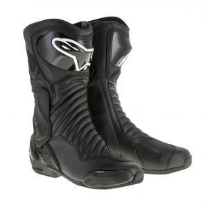 Ghete piele sport SMX 6 V2 ALPINESTARS culoare negru  marime 43