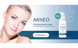 Tratament crema pentru acnee - Akneo 50 ml, special conceput pentru tenul gras