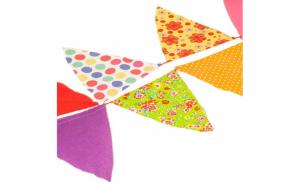 Jucarie Textila Party Flags 5m (20 Flags