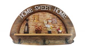 Cuier Home Sweet, 3 agatatori, 36 cm,