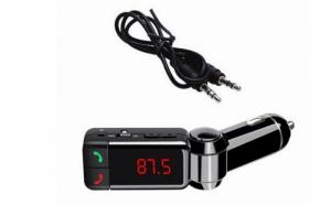 Car Kit Bluetooth 4-in-1 cu modulator FM si porturi USB la doar 79 RON
