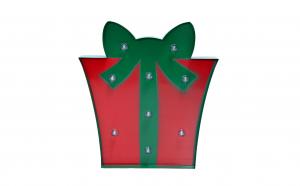 Banner decorativ cu Led cutie cadou