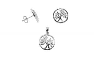 Set Argint 925 Copac cu Zirconii