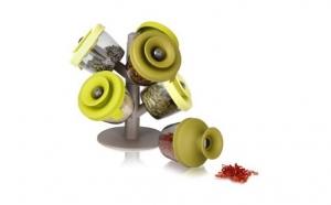 Spice Rack - Set modern 6 recipiente pentru condimente