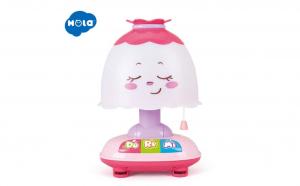 Lampa de veghe interactiva Hola Toys