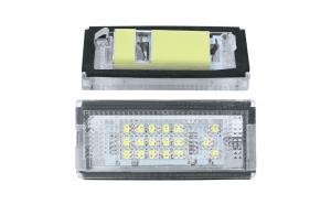 Lampa numar LED BMW E46 4/5 usi