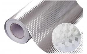 Set 2 folii aluminiu autoadezive 61x300