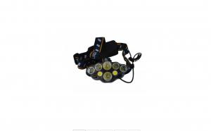 Lanterna de cap, 8 LED