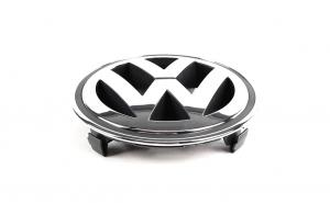 Emblema Volkswagen, montare pe grila radiator, 14.8cm