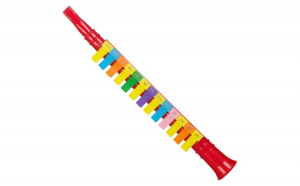 Fluier multicolor pentru copii