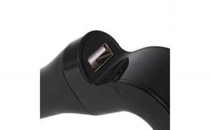 Modulator FM Hands Free Bluetooth A2DP G7, negru