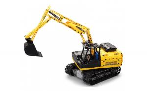 Excavator Double Eagle, Cada din blocuri