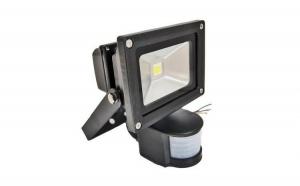 Proiector LED CU SENZOR DE MISCARE metalic cu LED 10W pentru iluminat economic