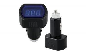Tester Voltmetru cu afisaj LCD si mufa bricheta incorporata 12-24V APT-AG361