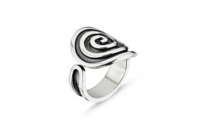 Inel argint 925 reglabil cu spirala