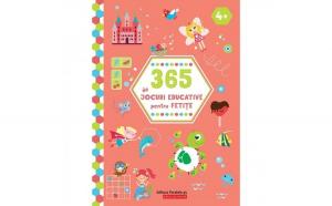 365 de jocuri educative pentru fetite