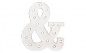 Banner decorativ cu LED ''&'' , VIVO, FNF16126