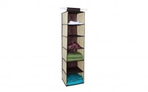 Husa suspendabila pentru depozitare, 6 compartimente, 120 x 30 x 30 cm