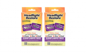 2 x Seturi servetele Headlight Restore