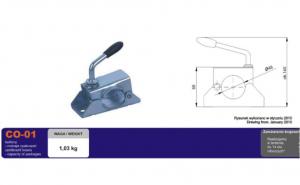Colier / Clema remorca metalica pentru fixarea protapului (medie)