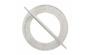 Accesoriu de lemn tip agrafa pentru