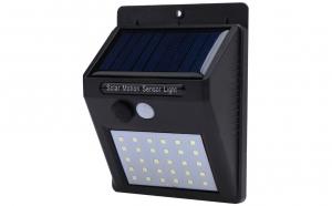 Lampa cu incarcare solara si senzor de miscare, 30 LED