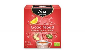 Ceai BIO Buna dispozitie, 21.6 g Yogi