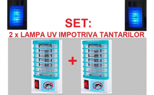 Set: 2 x lampa UV