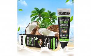 Pasta de dinti, din carbon activ si nuca de cocos, 100 ml