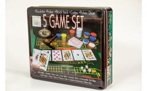 Set jocuri de societate 5 in 1