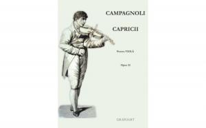 Campagnoli - Capricii (pt. viola), autor Campagnoli