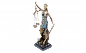 Statueta Zeita Justitiei 28 cm