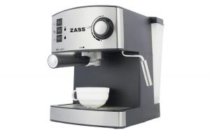 Espressor manual Zass ZEM 04, 850W, 15 bari, 2 portfiltre
