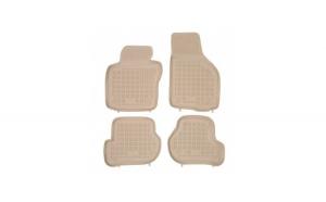 Covorase presuri cauciuc Premium stil tavita Seat Leon 1P 2005-2013 Bej