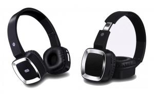 Casti T6 pliabile, fara fir, cu functie Bluetooth, handsfree, slot card microSD