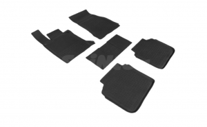 Covoare / Presuri cauciuc stil tip tavita BMW Seria 7 G12 (varianta lunga) dupa 2015-prezent (5 bucati) - SEINTEX