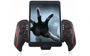 Controller telescopic joystick gamepad wireless compatibil Android & IOS
