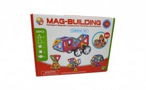 Set Constructii Magnetice, 36 piese