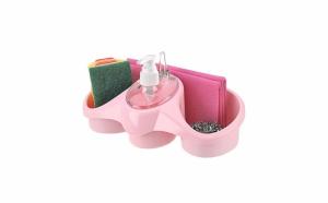 Dispenser sapun lichid cu suport burete Titiz