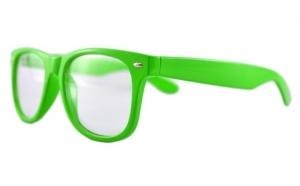 Ochelari - Rame cu lentile transparente tip Passenger Verde