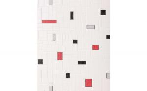Tapet in relief culoare alb 584-26