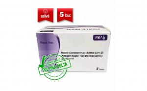 Set 5xTest rapid Antigen saliva COVID 19