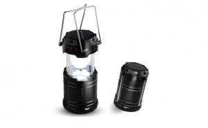 Felinar solar LED - simplu de utilizat, ideal pentru a fi folosit in vacante, camping, pescuit 1+1 Cadou