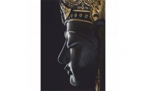 Tablou Canvas Buddha, 50 x 70 cm, 100% Poliester