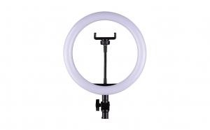 Lampa circulara 12 inch cu trepied
