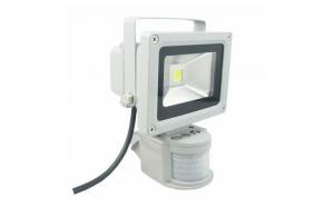 Proiector LEDcu senzor, 10W, lumina calda, IP65