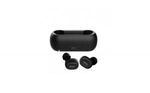Casti in-Ear QCY T1 TWS Wireless, baterie 380 mAh, negru